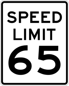 keeping speed limit low